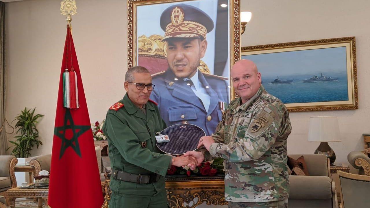 بالصور: اجتماع عسكري مغربي أمريكي بأكادير لتنظيم أضخم مناورات على صعيد افريقيا