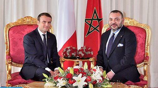 الملك يتباحث هاتفيا مع الرئيس الفرنسي حول الأزمة الليبية