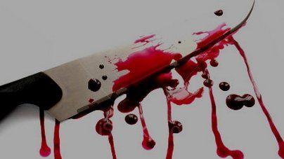 جريمة قتل سكين
