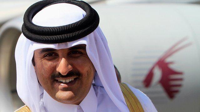 الشيخ تميم بن حمد ال خليفة أمير قطر