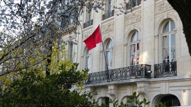 سفارة مغربية في باريس