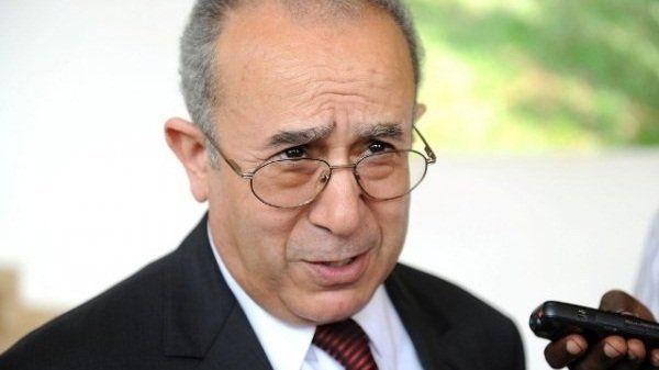 لعمامرة وزير خارجية الجزائر