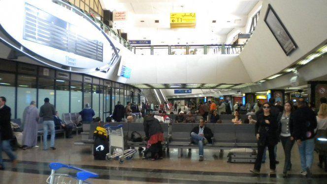 Image result for مطار محمد الخامس