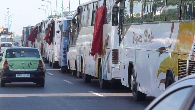 حافلات النقل الطرقي