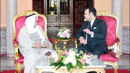 الملك وأمير دولة الكويت