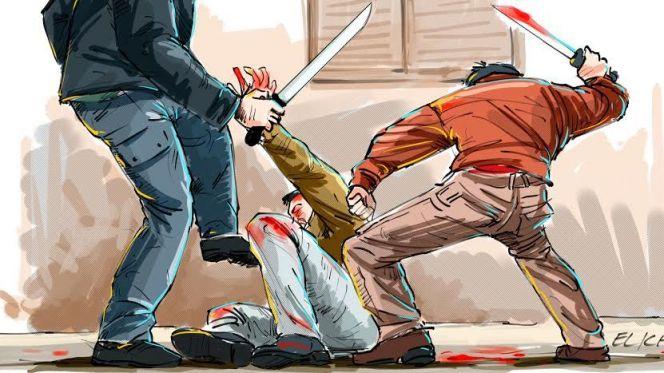 اعتداء جريمة سيوف