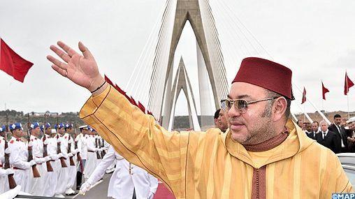 الملك يدشن جسر محمد السادس