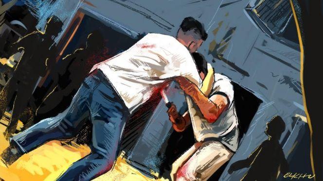 نتيجة بحث الصور عن تبادل الضرب والجرح