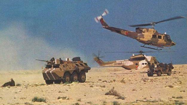 الجيش المغربي في الصحراء