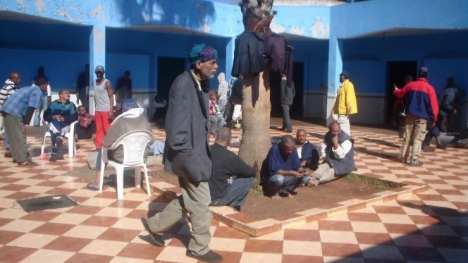 جناح المشردين بمركز تيط مليل