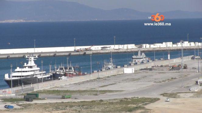 Cover Video -Le360.ma •هكذا تسير أشغال تهيئة منطقة ميناء طنجة المدينة