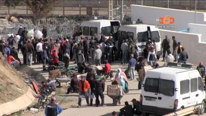 غلاف فيديو... تداعيات مقتل حمالة واغلاق معبر سبتة المحتلة