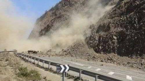انهيار جبلي بتطوان 1