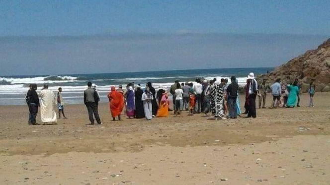 حالة غرق بشاطئ مير اللفت