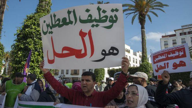 بطالة المغرب