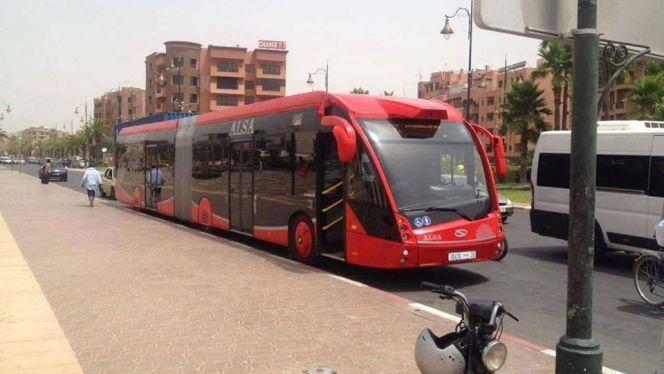 حافلة كهربائية بمراكش 3