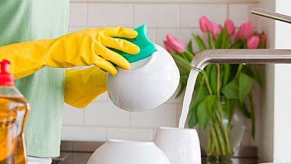 إسفنجة غسل الصحون
