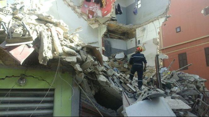 انهيار منزل بدر الكبير 1