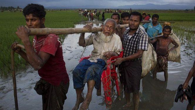 ترحيل الروهينغا بورما