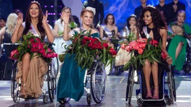 ملكة جمال كرسي متحرك