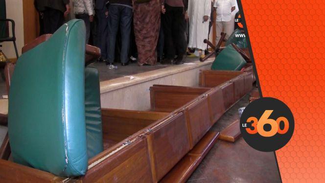 غلاف فيديو - عنف خطير بين مستشاري البام و البجدي في مجلس المدينة