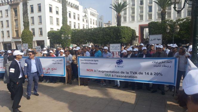 احتجاج وكلاء التأمين 6