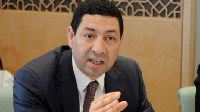 ياسر عادل، رئيس غرفة التجارة بالدرالبيضاء