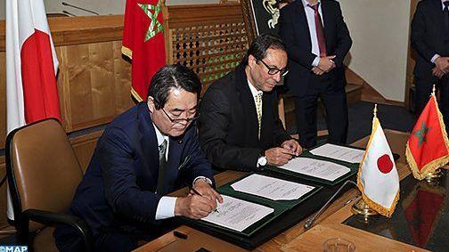 مذكرة تعاون المغرب اليابان