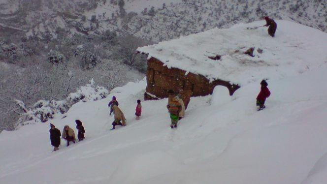 ضحايا حصار الثلوج