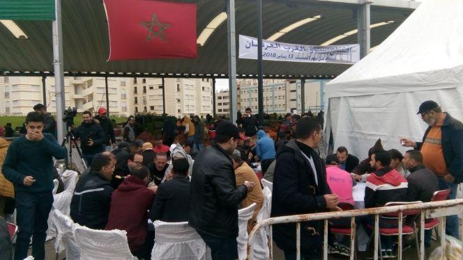 اقتتاح سوق بوخالف 1