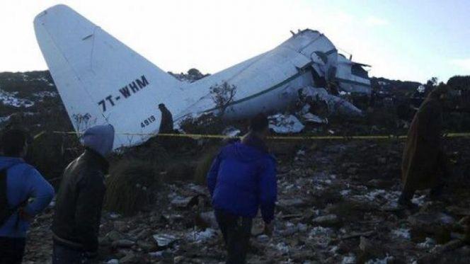 تحطم طائرة جزائرية