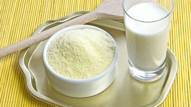 مسحوق الحليب