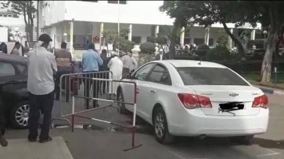 حادثة دهس طفل بمستشفى الهاروشي