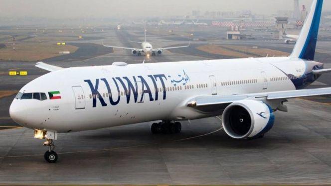 طائرة كويتية