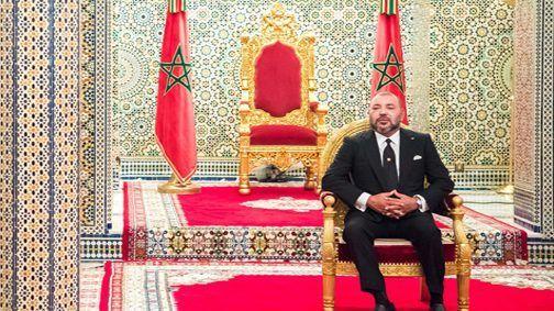 الملك يستقبل