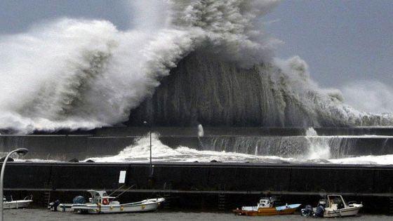 إعصار جيبي اليابان