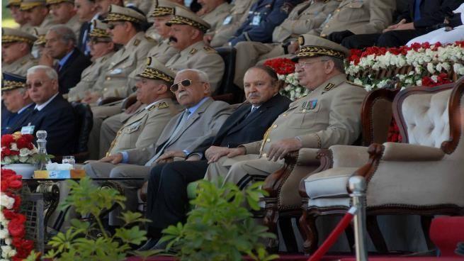قيادات عسكرية جزائرية