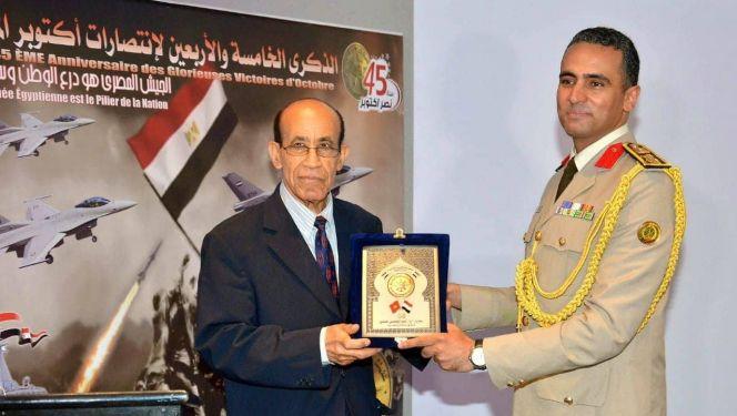 ملحق عسكري مصري وعقيد مغربي حسن العلوي