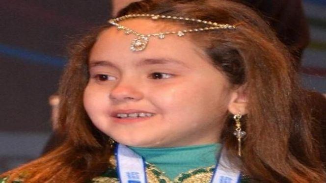 الطفلة مريم أمجون