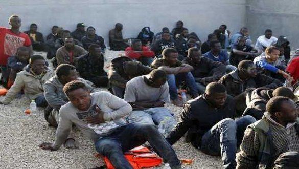 مهاجرون أفارقة بالجزائر