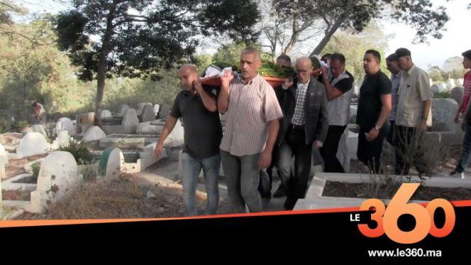 غلاف فيديو - جنازة الفنان التشكيلي المغربي بن دحمان بمقبرة طنجة