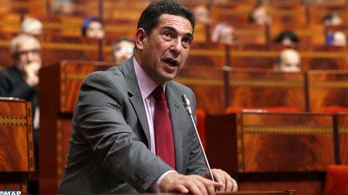أمزازي في البرلمان