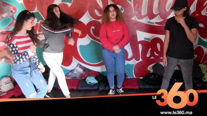 غلاف فيديو - اجواء افتتاح اول  مدرسة هيب هوب بطنجة