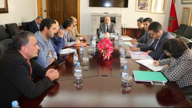 اجتماع وزير الصحة مع نقابة الأطباء