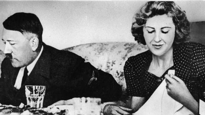 هتلر وزوجته