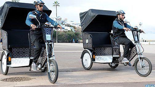 دراجات تاكسي الرباط