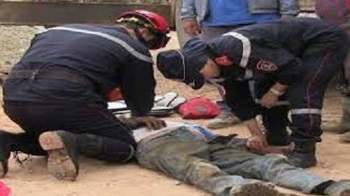 وفاة عامل بناء
