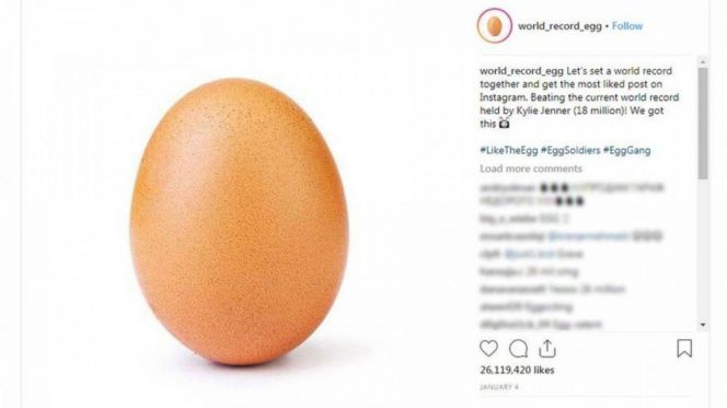 بيضة إنستغرام