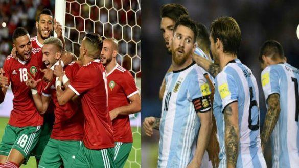المغرب والأرجنتين