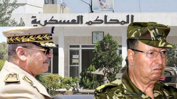اعتقال جنرالين جزائريين